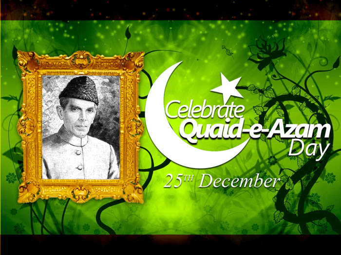 25 December Quaid-e-Azam Day Wallpapers