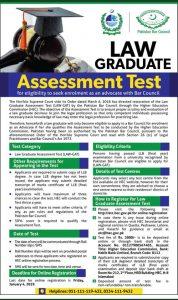 Law Graduate Assessment Test - GAT December 2018
