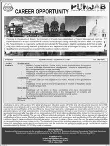 Planning and Development Board Lahore Jobs January 2019 For Project Director
