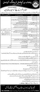 Punjab Vocational Training Council Govt of the Punjab Jobs 2019 for Lab Assistant Disable Quota