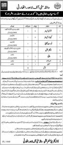 Wald City of Lahore Authority Jobs 2019 for Auto CAD, Computer Operator, Disable Person