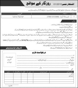 Public Sector Department Jobs 2019 for S-A Latest
