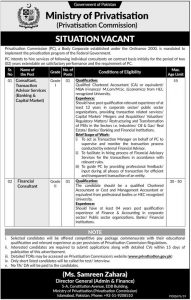 Ministry of Privatization Jobs 2019 Latest