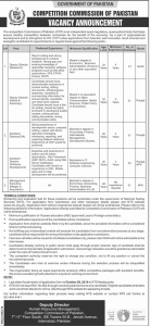 Competition Commission of Pakistan Jobs 2019 Government Jobs 2019