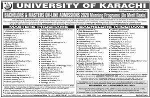 Comsats Admissions Spring 2020 Comsats University Islamabad 1
