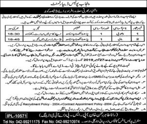 Police Department Jobs 2019 for Disabled Person