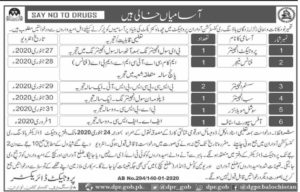 Housing Reconstruction Awaran Baluchistan Jobs 2020 for Project Engineer, Finance Manager, System Engineer etc