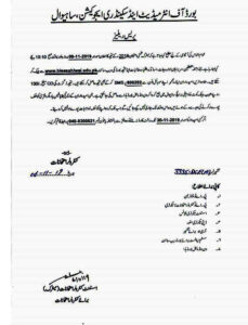 Confirm date of Matric Result Announced 2020 in All Punjab Check Online