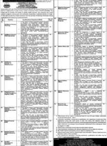 Planning And Development Board Lahore Latest Accounts Officer Jobs 2020