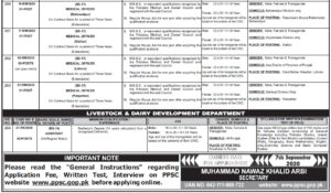 PPSC Advertisement No.232020, Apply Online, Jobs in Punjab Public Service Commission