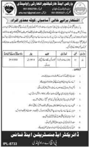Parks And Horticulture Authority Pha Rawalpindi Disabled Persons New Jobs 2020