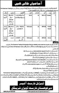 Forest Department Khayber Pakhtunkhwa Kohistan Latest Administrative Jobs 2020