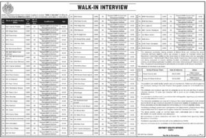 Health Department Govt Of Sindh Walk In Interview Cmw Latest Midwives Jobs 2020