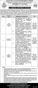 Primary And Secondary Healthcare Department Chief Executive Officer Jobs 2020
