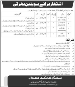 604 AC Combined Workshop Mangla Cantt Latest Jobs 2021