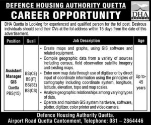 Defence Housing Authority Dha Assistant Manager Jobs 2020 Murtazaweb.com