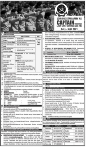 Join Pakistan Army As Captain Through Lady Cadet Course Lcc 18 Jobs 2020 Online Apply Nation Newspaper