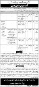 KPK Wildlife Department Mohmand Junior Clerk Jobs In Express Newspaper 2020