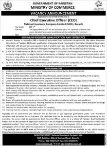 Ministry Of Commerce And Textile Karachi Administrative Latest Jobs 2020
