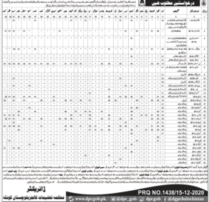 Stenographer Jobs 2021 in Education Department Quetta Balochistan Administration