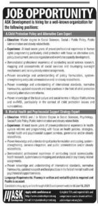 ASK Development Latest Jobs 2021 Recruitment Apply Online