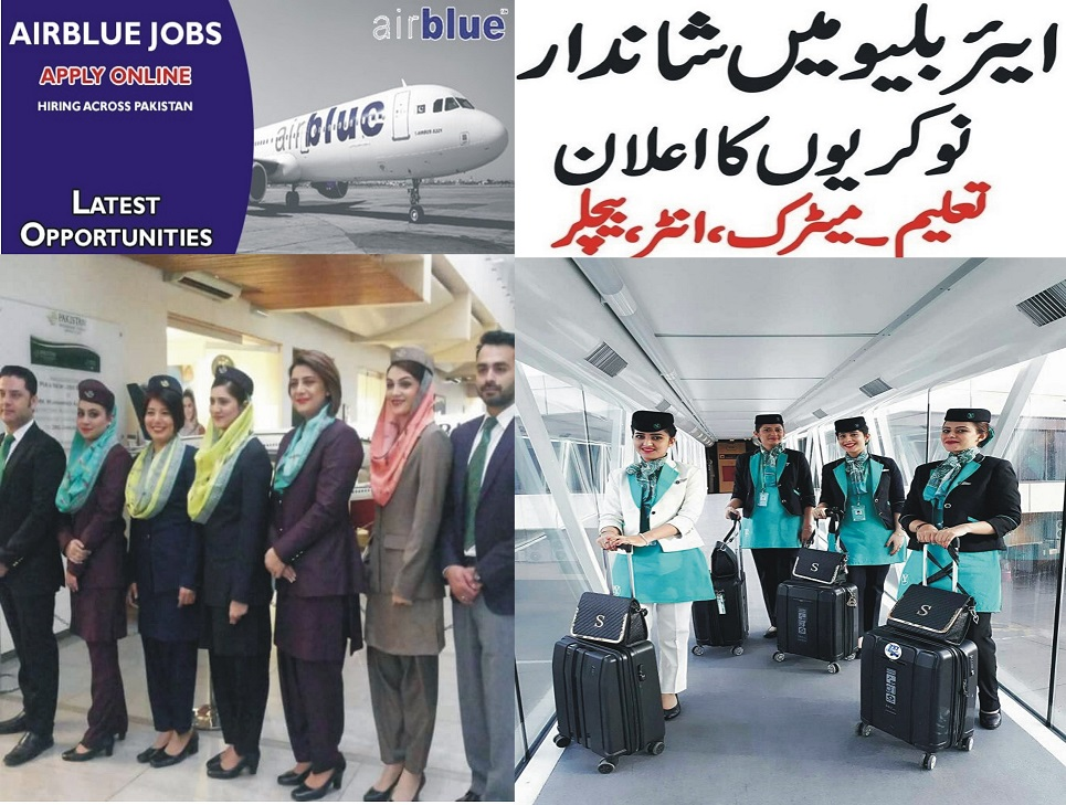 Air Blue Jobs 2021 Latest Airblue Careers in Pakistan for Medical Officer and Others
