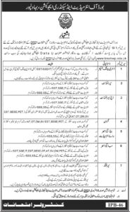 BISE Bahawalpur Jobs 2021 Advertisement for Deputy Superintendent