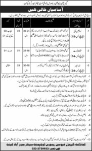 Join Pak Army 2021 Jobs for Civilian Teacher, Steno typist, Driver Advertisement