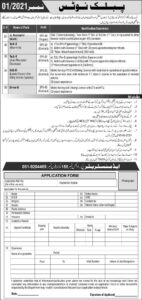 P.O Box 158 PAEC Jobs 2021 for Auto Mechanic Electrician Download Form