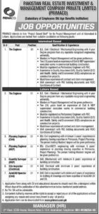 Primaco Jobs 2021 for Engineer Application Form Download, www.pirmaco.com.pk