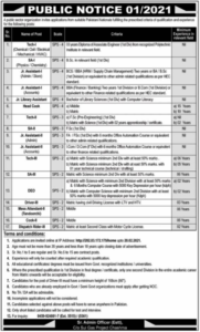 Public Sector Organization Jobs 2021 in Mianwali for Teaching Staffing