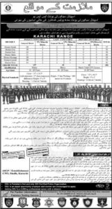 Sindh Police Special Security Unit Jobs 2021 for Commandos PTS Application Form
