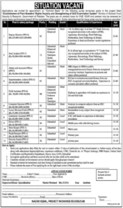 Ministry of National Food Security & Research Jobs 2021 in Islamabad for Superintendent
