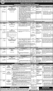 PPSC Jobs 2021 For Management Staff Advertisement No. 03-2021