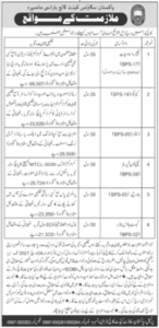 Pakistan Scouts Cadet College Jobs 2021 in Mansehra KPK for Lecturer