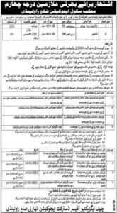 School Education Department Driver Jobs 2021 in Rawalpindi