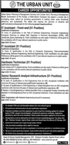 The Urban Unit Jobs 2021 For Management Staff in Lahore IT Assistant