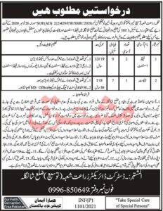 Agriculture Department Jobs 2021 for Field Assistant in KPK