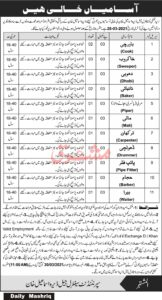 Central Jail Department Jobs 2021 in Dera Ismail Khan