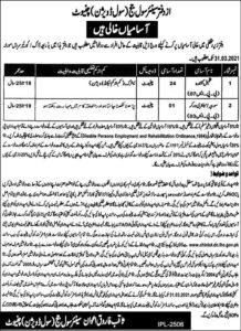 Civil Judge Office Jobs 2021 For Naib Qasid at Chiniot