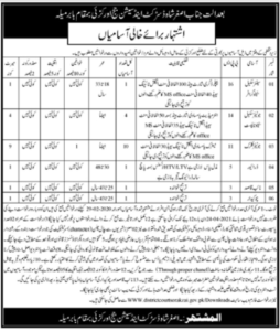 District and Session Judge Jobs 2021 in Orakzai KPK