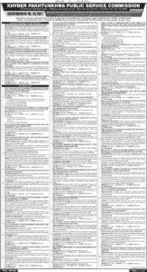 KPPSC Khyber Pakhtunkhwa Public Service Commission Jobs 2021