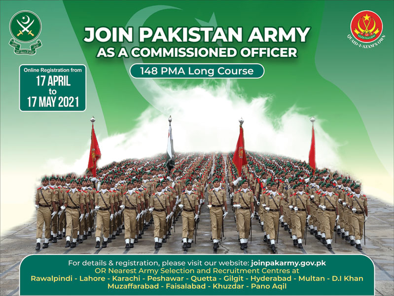 Join Pakistan Army As A Commissioned Officer Jobs 2021