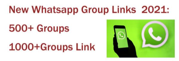 Latest WhatsApp Group Link 2021 | Best 10000+ WhatsApp Group