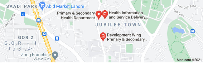 Punjab Primary & Secondary Healthcare Department