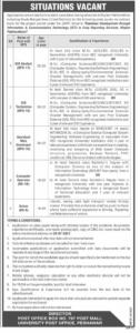 Directorate of Crop Reporting Services KPK Jobs June 2021