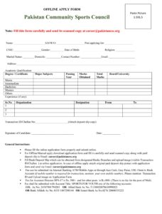 Download Form CSCP