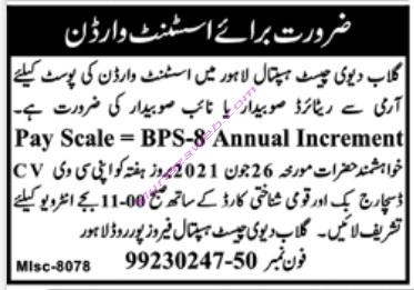Gulab Devi Hospital Lahore Jobs 2021