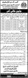 Highways Division Jamshoro Sindh Jobs June 2021