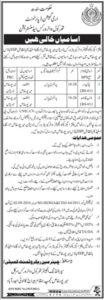 Jang News Jobs 2021 at Irrigation Department Sindh
